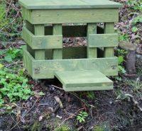 Hnízdní budka pro kachnu divokou – otevřená