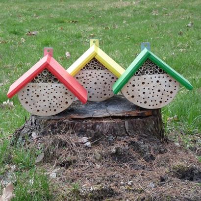 Hmyzí hotel malý – žlutý