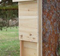 Hnízdní budka pro netopýry velká