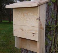 Hnízdní budka pro netopýry malá